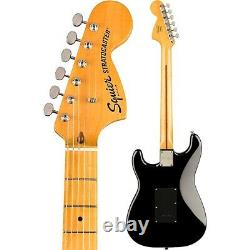 Squier Classic Vibe 70s Stratocaster HSS Maple Fingerboard Electric Guitar Black