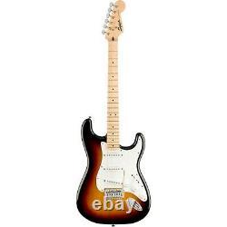 Squier Stratocaster LE Guitar Pack with Fender Frontman 10G Amp 3-Color Sunburst