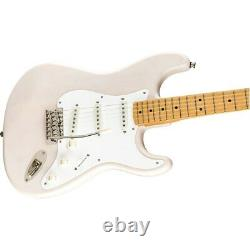 Squier by Fender Classic Vibe'50s Stratocaster Guitar, Maple, White Blonde