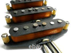Stratocaster 1954 Pickups VINTAGE CORRECT Set Hand Wound Fits Fender Strat 54 Q