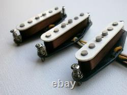 Stratocaster Alnico 3 Custom Pickups Set Q Fits Fender Vintage Hendrix Strat