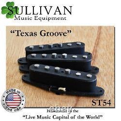 Stratocaster Custom Shop Fits Fender Strat Hand Wound Pickups SME ST54