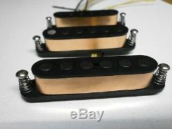 Stratocaster Hand Wound Alnico 5 Q Pickups Workshop Schecter F500T Fits Fender