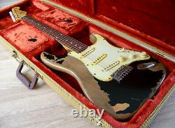 TPP John Mayer / BLK1 Black One Fender USA 60's Stratocaster Tribute Big Dippers