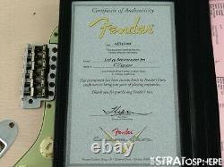 USA Fender Custom Shop 1959 Relic Stratocaster LOADED BODY Strat Shell Pink