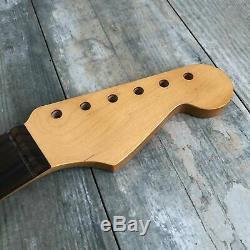 USA Spec Stratocaster Neck 7.25 Rosewood Fingerboard Vintage Tint Fits Fender