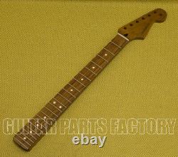 099-0403-920 Fender Rôti Pao Ferro Stratocaster Neck 22 Jumbo Frets Flat Oval