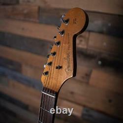 2001 Fender Custom Shop 1960 Relic Stratocaster En Blanc Olympique D'occasion