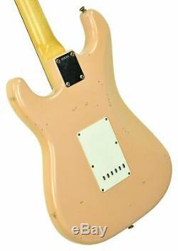 2013 Fender Custom Shop 63 Stratocaster Relic Shell Rose