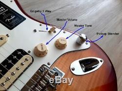 2020 Fender Stratocaster Hss Lecteur Plus Haut Maple Fingerboard Ltd. Ed. Withmods