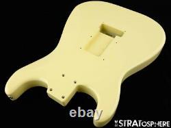 2021 American Fender Stratocaster Malmsteen, Strat Body Vintage Blanc