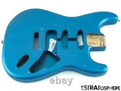 2021 American Performer Fender Stratocaster Strat Body USA Lake Placid Blue