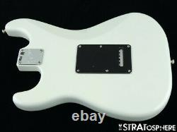 2021 American Performer Fender Stratocaster Strat Loaded Body, États-unis Arctic White