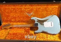 2021 Fender 62 Stratocaster Heavy Relic Modern Specs Sonic Blue Custom Shop Rare