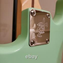 2021 Strat Construire Hardtail Fender Invader Surf Vert Tom Delonge Style Avec Gig Bag
