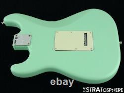 21 American Performer Fender Hss Stratocaster Strat Loaded Body USA Surf Green