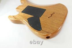 Acajou Hss Hardtail Corps De Guitare S'adapte Fender Strat Stratocaster Cous J079