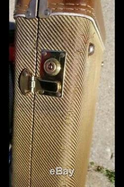 Aged G & G Tweed Guitare Fender Strat Convient Case Stratocaster Telecaster Télé