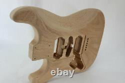 Ahogany Hsh Corps De Guitare Hardtail S'adapte Fender Strat Stratocaster Cous J359