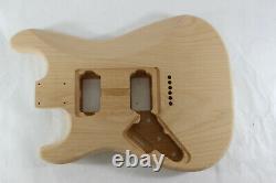 Alder Hxh Corps De Guitare Hardtail S'adapte Fender Strat Stratocaster Cous J290