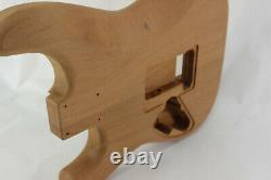 Corps De Guitare Ahogany Hsh S'adapte Fender Strat Stratocaster Cou Floyd Rose J284
