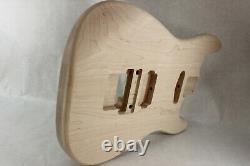 Corps De Guitare Maple Hxs S'adapte Fender Strat Stratocaster Cou Floyd Rose J605