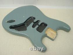 Défaut! Fender Squier Strat Hardtail Stratocaster Sonic Grey Electric Guitar Ht