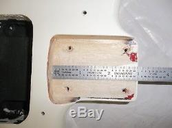 Défaut! Fender Squier Strat Stratocaster Sunburst Brown Body Electric Guitar