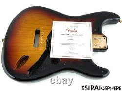Etats-unis Fender Srv Stevie Ray Vaughan Stratocaster Body 3 Color Sunburst