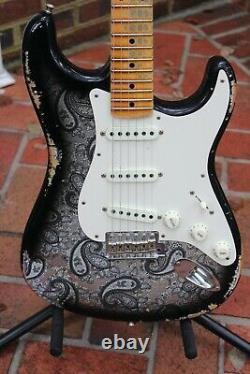 Fender 2019 Custom Shop Déchiqueteuse Relique Lourde Stratocaster Guitare Électrique
