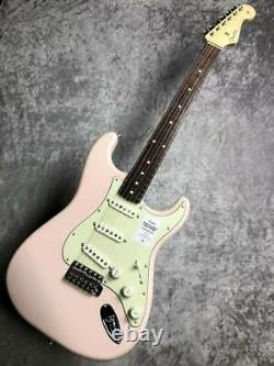 Fender 2020 Traditionnelle 60s Stratocaster Shell Pink Guitar Made In Japan
