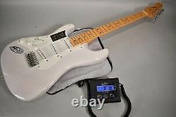 Fender American Original 50s Stratocaster Left Handed White Electric Guitar