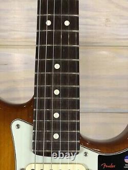 Fender American Performer Stratocaster, Rosewood, Honey Burst Avec Livraison Gratuite