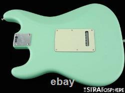 Fender American Performer Stratocaster Strat Body+ Hardware USA Satin Surf Green