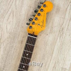Fender American Ultra Stratocaster Hss Guitare Avec Le Cas, Le Conseil Rosewood Ultraburst