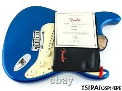 Fender American Ultra Stratocaster Strat Loaded Body USA Cobra Blue 2020