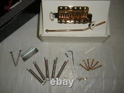 Fender American Vintage Gold Series Tremolo Système Strat Bridge Stratocaster