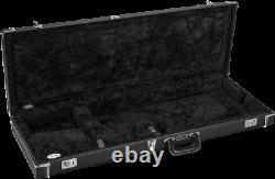 Fender Black Tolex Classic Série Strat/tele Guitar Case Stratocaster Telecaster