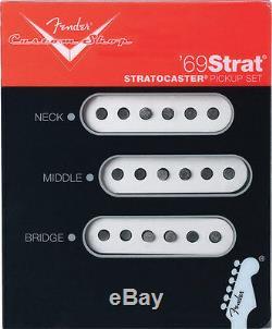 Fender Custom Shop'69 Strat Set De Ramassage De 3 Brand New USA Made Stratocaster USA