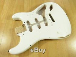 Fender Custom Shop Ancho Poblano Strat Corps Rôti Alder Fender Strat Relic