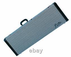 Fender G&g Deluxe Hardshell Cases Stratocaster/telecaster Black Tweed
