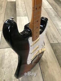 Fender Jimi Hendrix Voodoo Chile Signature Stratocaster 3-tone Sunburst Avec Sac