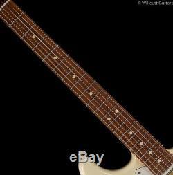 Fender Ltd Mahogany Blacktop Stratocaster Matériel Hhh Or Blanc Olympique (249)