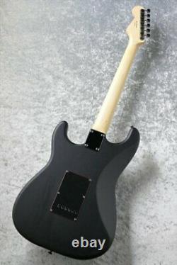 Fender Made In Japan Limited Noir Stratocaster Electric Guitar Black