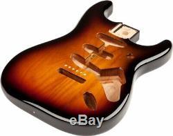 Fender Mexique Stratocaster Sss 3-tone Sunburst Alder Corps Withvintage Pont Du Mont