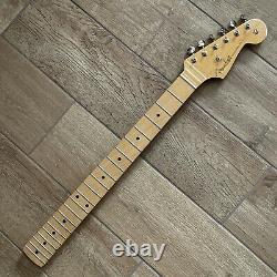 Fender Noventa Stratocaster Strat Neck Tuners 9.5 Guitare Radius Maple Chargé