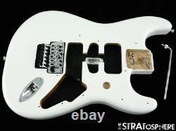 Fender Player Floyd Rose Stratocaster Strat Body & Hardware Polar White 2021