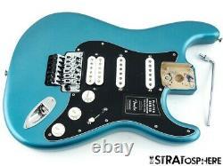 Fender Player Floyd Rose Stratocaster Strat Loaded Body Guitar Tidepool