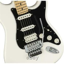Fender Player Stratocaster Guitare Électrique, Touche D'érable, Blanc Polaire