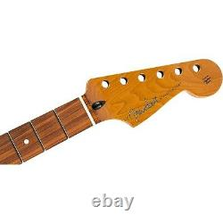 Fender Roast Stratocaster Neck Flat Oval Shape, Pau Ferro Fingerboard